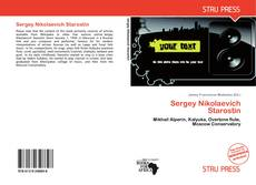 Bookcover of Sergey Nikolaevich Starostin
