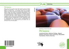 Bookcover of PN Saxena