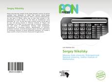 Buchcover von Sergey Nikolsky