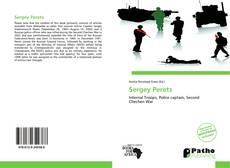 Buchcover von Sergey Perets