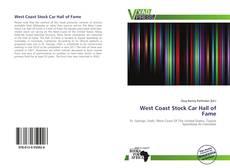 West Coast Stock Car Hall of Fame的封面
