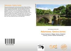 Bookcover of Adamowo, Gmina Joniec