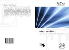 Peter Macdissi kitap kapağı