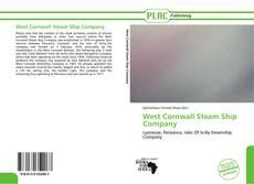 Portada del libro de West Cornwall Steam Ship Company