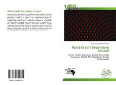 Buchcover von West Credit Secondary School
