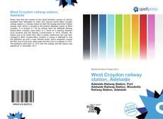 Обложка West Croydon railway station, Adelaide