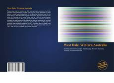 Bookcover of West Dale, Western Australia