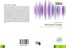 Capa do livro de West Dean College