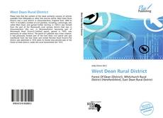 Portada del libro de West Dean Rural District