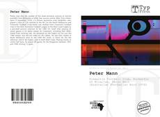 Обложка Peter Mann