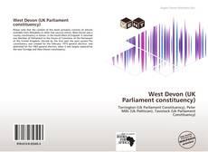 Bookcover of West Devon (UK Parliament constituency)