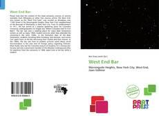 West End Bar kitap kapağı