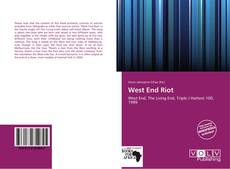 Capa do livro de West End Riot