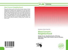 Bookcover of West Farnam Neighborhood