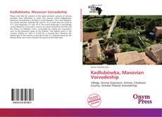 Portada del libro de Kadłubówka, Masovian Voivodeship