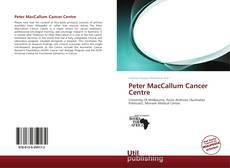 Peter MacCallum Cancer Centre的封面