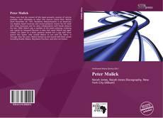 Couverture de Peter Malick