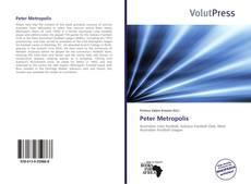 Capa do livro de Peter Metropolis