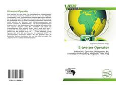 Capa do livro de Bitweiser Operator