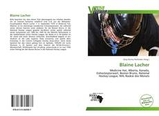 Bookcover of Blaine Lacher
