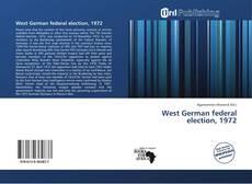 Borítókép a  West German federal election, 1972 - hoz