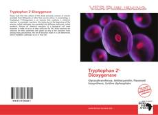 Bookcover of Tryptophan 2'-Dioxygenase