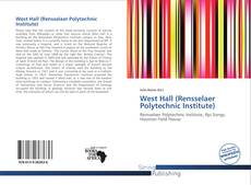 Bookcover of West Hall (Rensselaer Polytechnic Institute)