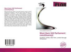 Обложка West Ham (UK Parliament constituency)
