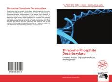 Portada del libro de Threonine-Phosphate Decarboxylase