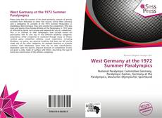 Bookcover of West Germany at the 1972 Summer Paralympics