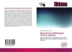 Bookcover of West Green (RTA Rapid Transit station)