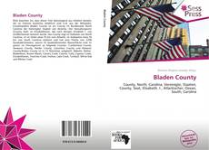 Bookcover of Bladen County
