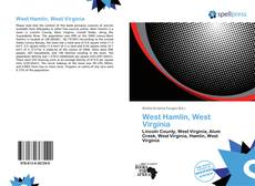 Capa do livro de West Hamlin, West Virginia