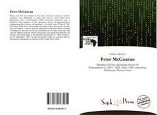 Bookcover of Peter McGauran