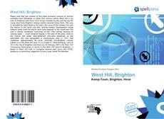 West Hill, Brighton kitap kapağı