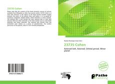 Bookcover of 23735 Cohen