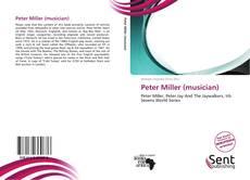 Portada del libro de Peter Miller (musician)