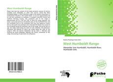 Buchcover von West Humboldt Range