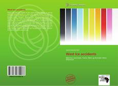 Bookcover of West Ice accidents