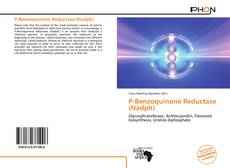 Bookcover of P-Benzoquinone Reductase (Nadph)