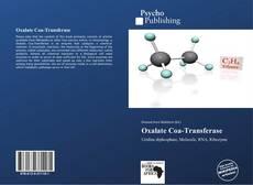 Buchcover von Oxalate Coa-Transferase