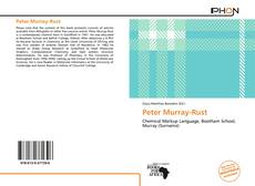 Capa do livro de Peter Murray-Rust