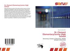 Bookcover of St. Clement Elementary/Junior High School