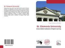 Couverture de St. Clements University