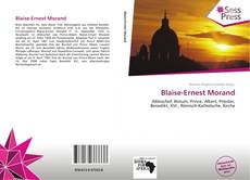 Bookcover of Blaise-Ernest Morand