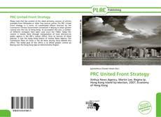 Portada del libro de PRC United Front Strategy