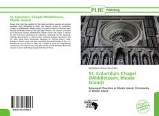Capa do livro de St. Columba's Chapel (Middletown, Rhode Island)