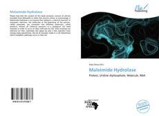 Buchcover von Maleimide Hydrolase