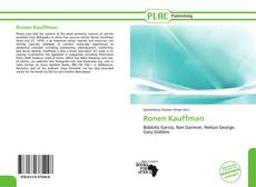 Capa do livro de Ronen Kauffman