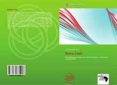 Capa do livro de Rone Leah